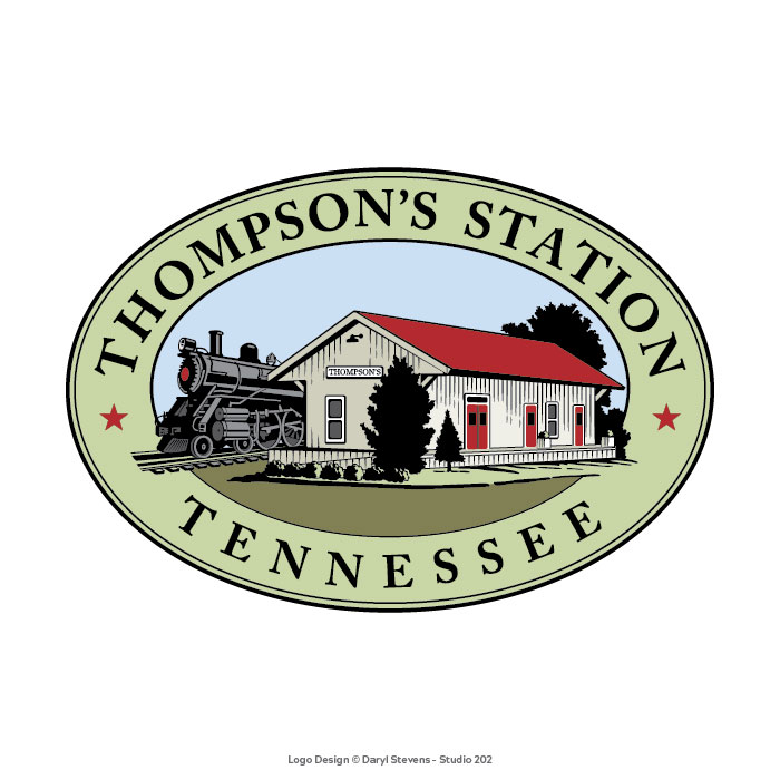 Thompson's Station Tennessee logo
