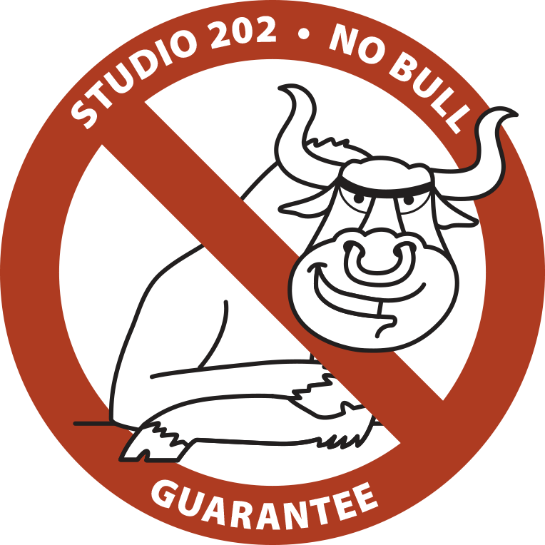studio 202 no bull guarantee