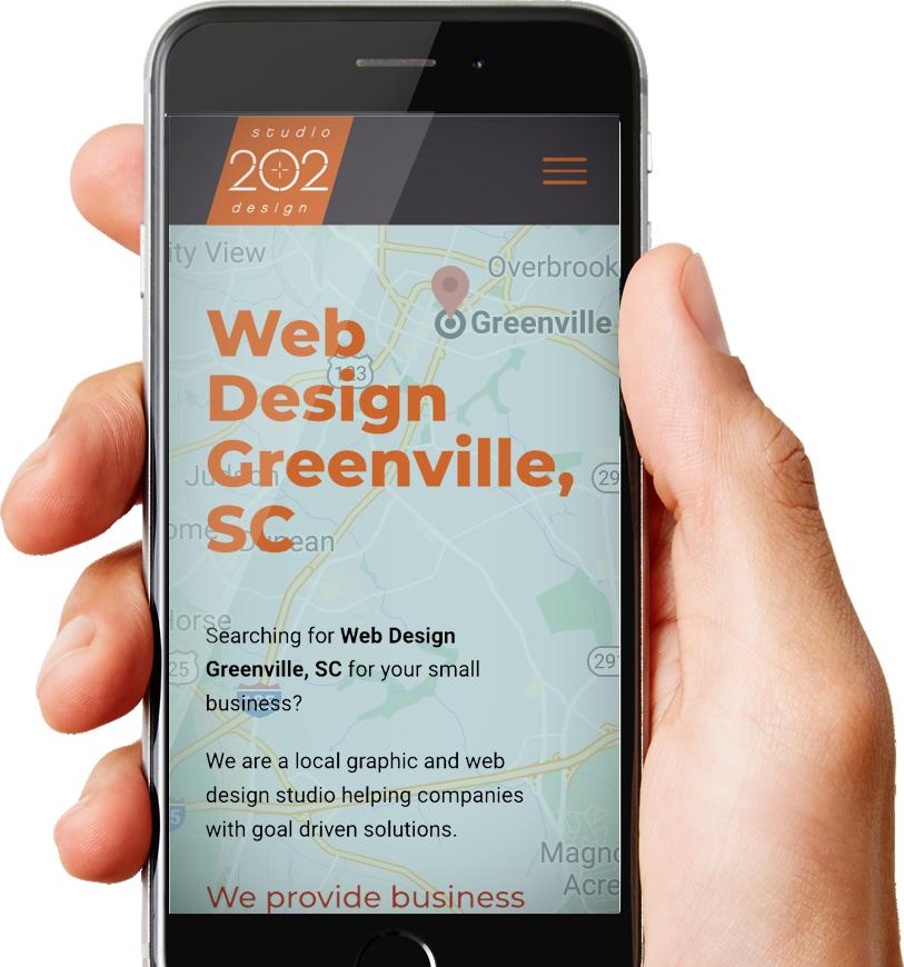 Web Design Greenville, SC
